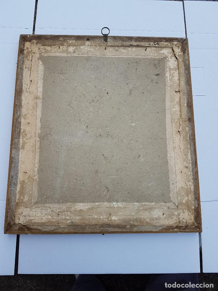 Arte: GRABADO MUY ANTIGUO CON SU MARCO DORADO DE EPOCA,SIGLO XVII-XVIII APROX - Foto 2 - 200163626