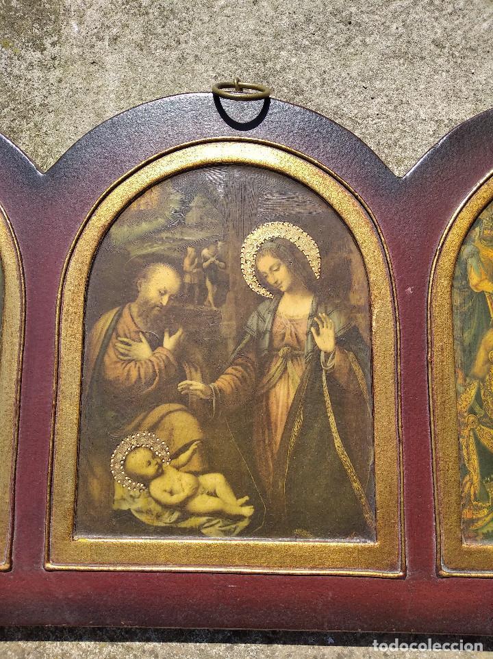 Arte: Triptico religioso : La natividad - Foto 4 - 200257361