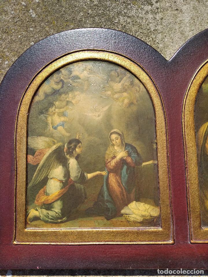 Arte: Triptico religioso : La natividad - Foto 5 - 200257361