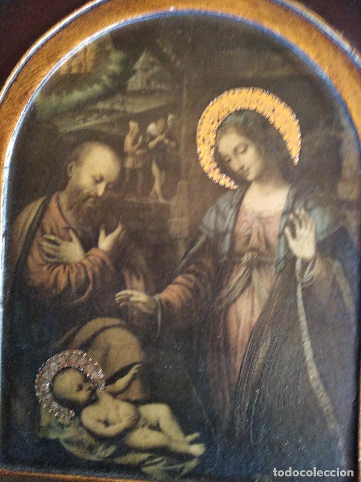 Arte: Triptico religioso : La natividad - Foto 8 - 200257361