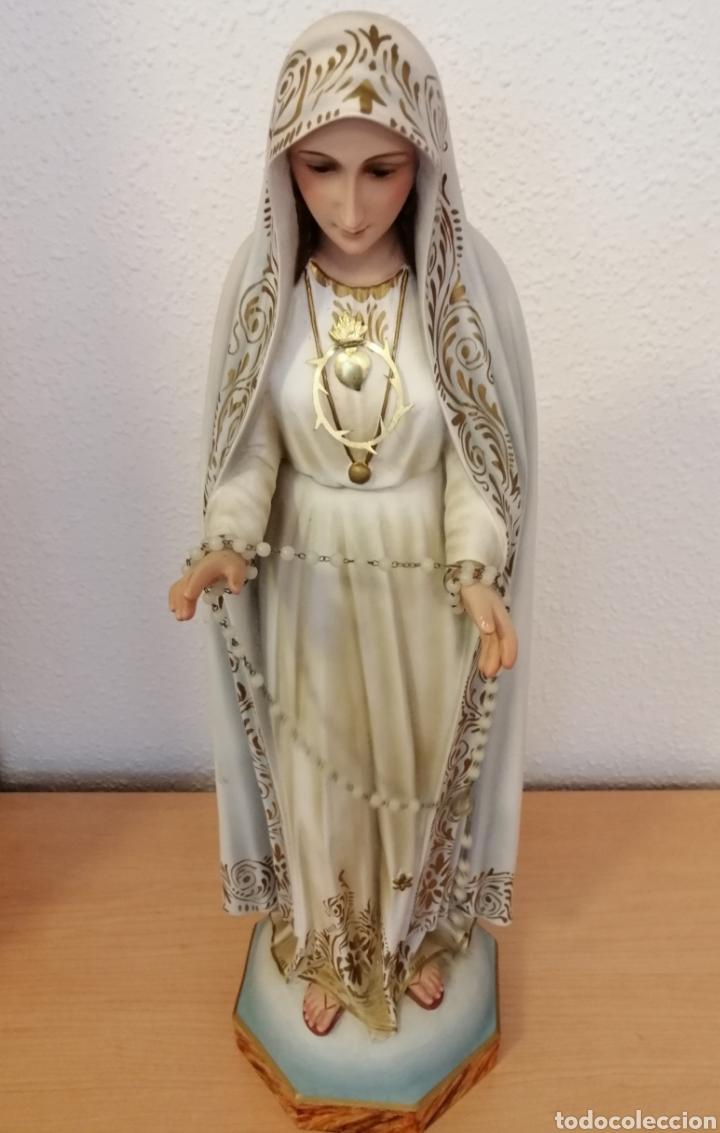 Arte: Antigua escultura Virgen Milagrosa - Foto 2 - 200365961
