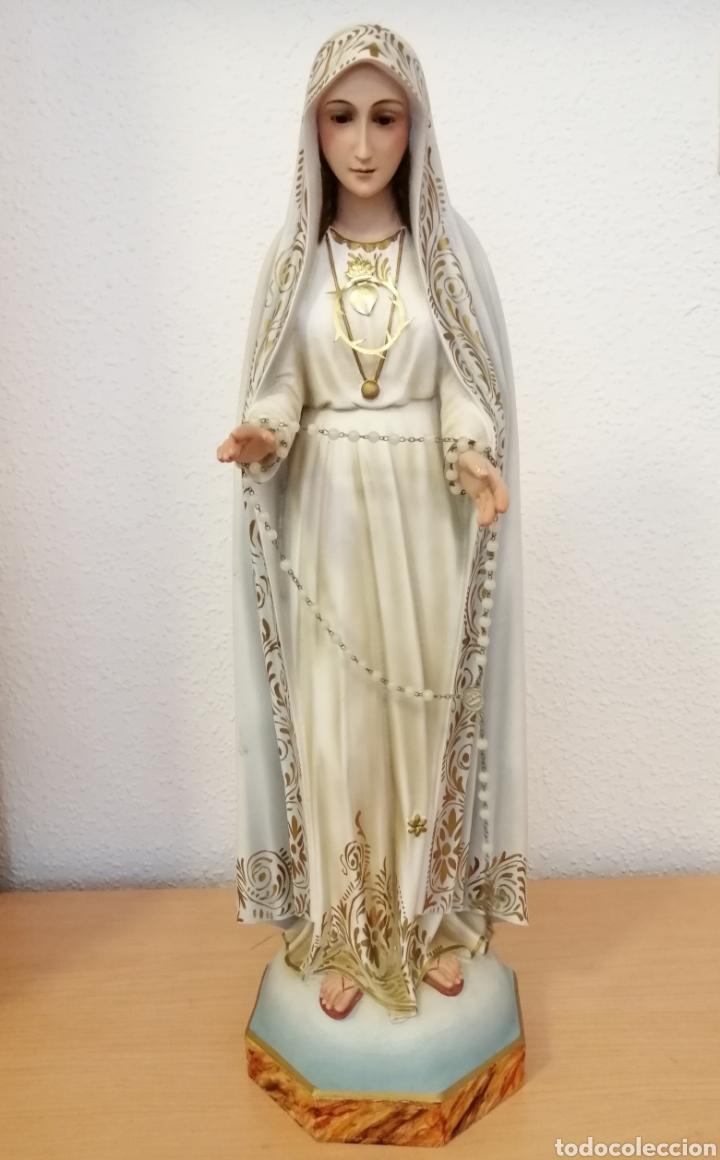 Arte: Antigua escultura Virgen Milagrosa - Foto 8 - 200365961