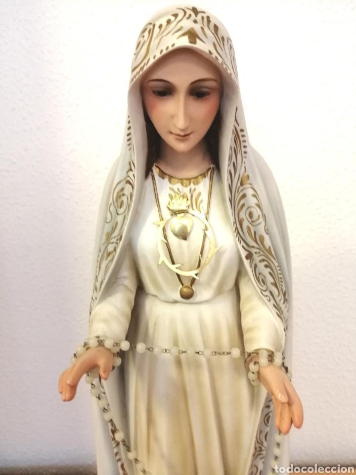 ANTIGUA ESCULTURA VIRGEN MILAGROSA (Arte - Arte Religioso - Escultura)