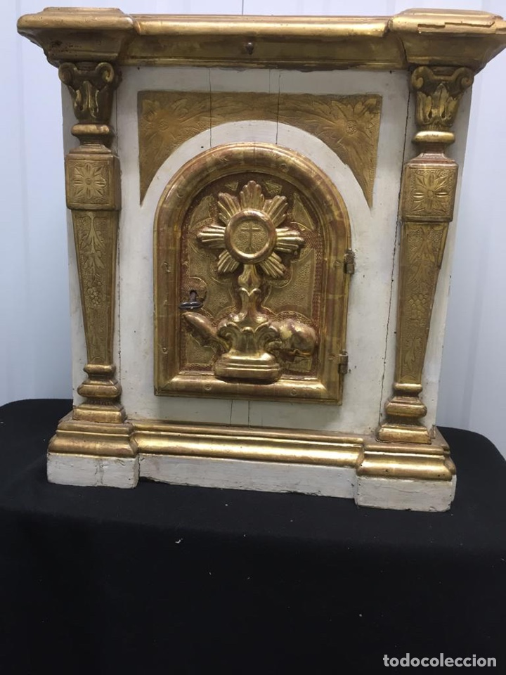IMPRESIONANTE SAGRARIO ANDALUZ SIGLO XVIII (Arte - Arte Religioso - Retablos)