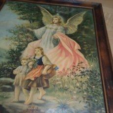 Arte: * ANGEL DE LA GUARDA. 48CM.X38 CM. (RF:G/*). Lote 200789886