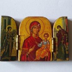 Arte: TRÍPTICO RELIGIOSO. Lote 200803265