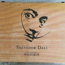 Arte: LOS CANTOS DE MALDOROR ILUSTRADA POR SALVADOR DALÍ. Lote 201110295