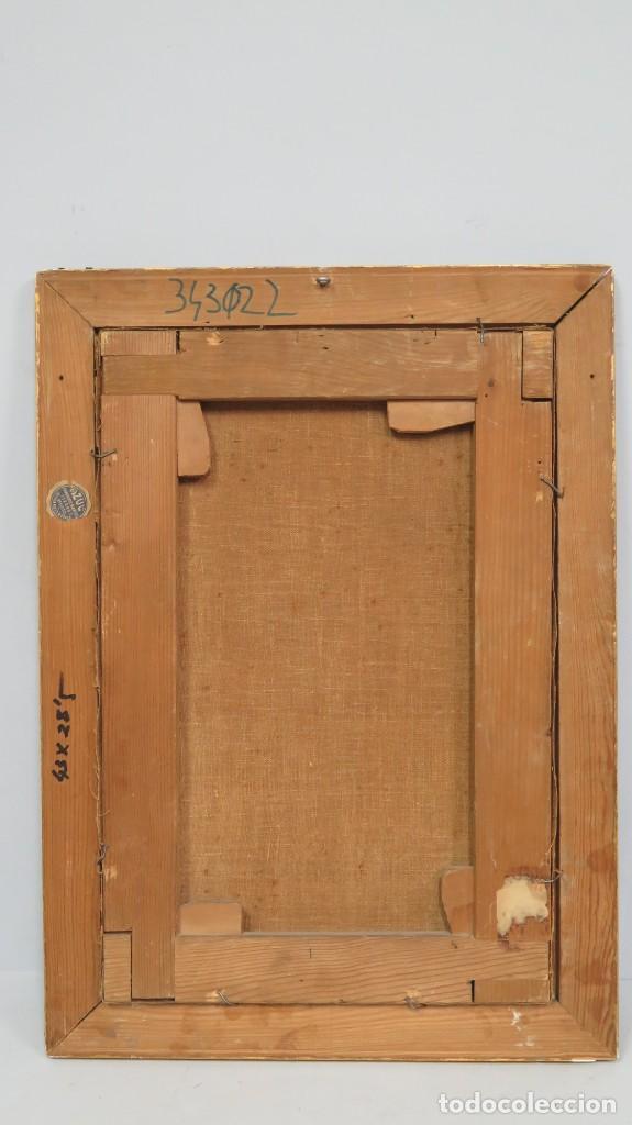 Arte: APARACION DE JESUS A SANTA MARGARITA MARIA DE ALACOQUE. GABRIEL MAURETA Y ARACIL (1832-1912). 1864 - Foto 12 - 201158800
