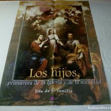 Arte: LAMINA RELIGIOSA TAMAÑO POSTER.68 X 48 CM.. Lote 201172507