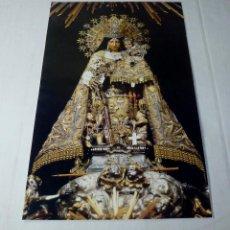 Arte: LAMINA RELIGIOSA NUESTRA SEÑORA DE LOS DESAMPARADOS CON HIMNO DE LA CORONACION.41 X 27 CM.. Lote 201172698