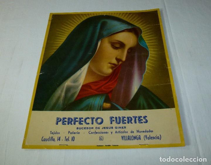 LAMINA RELIGIOSA DE CALENDARIO - CARTON.29 X 25 CM. (Arte - Arte Religioso - Pintura Religiosa - Otros)