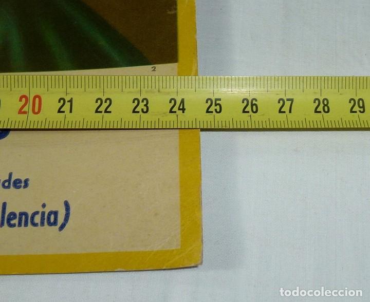 Arte: Lamina Religiosa De Calendario - Carton.29 x 25 Cm. - Foto 3 - 201172712
