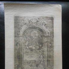 Arte: 1850 GRABADO VIRGEN NUESTRA SEÑORA DE PASTORIZA PASTOR OVEJA - RELIGION. Lote 201233760