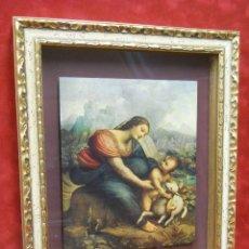 Arte: MADONNA CON EL NIÑO JESUS Y CORDERO DE CESARE DA SESTO CUADRO. Lote 201345421