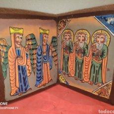 Arte: ANTIGUO ICONO COPTO PROCEDENTE DE ETIOPÍA. Lote 203438062