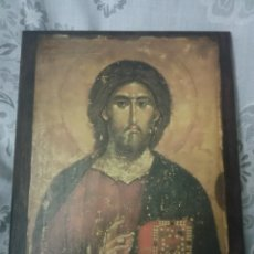 Arte: ICONO RELIGIOSO SOBRE TABLA. Lote 203595170