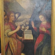 Arte: ANUNCIACIÓN DE LA VIRGEN MARÍA 104×80 CENTÍMETROS. Lote 203980861