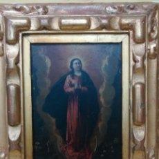 Arte: VIRGEN INMACULADA DE COBRE. Lote 203991527