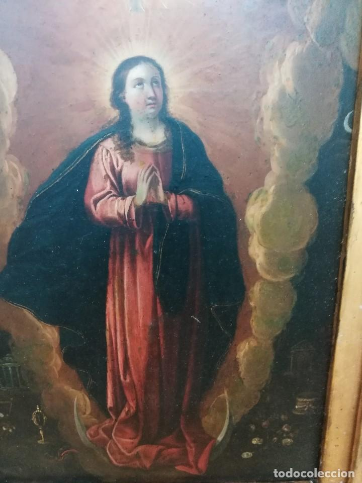 Arte: Virgen inmaculada de cobre - Foto 2 - 203991527