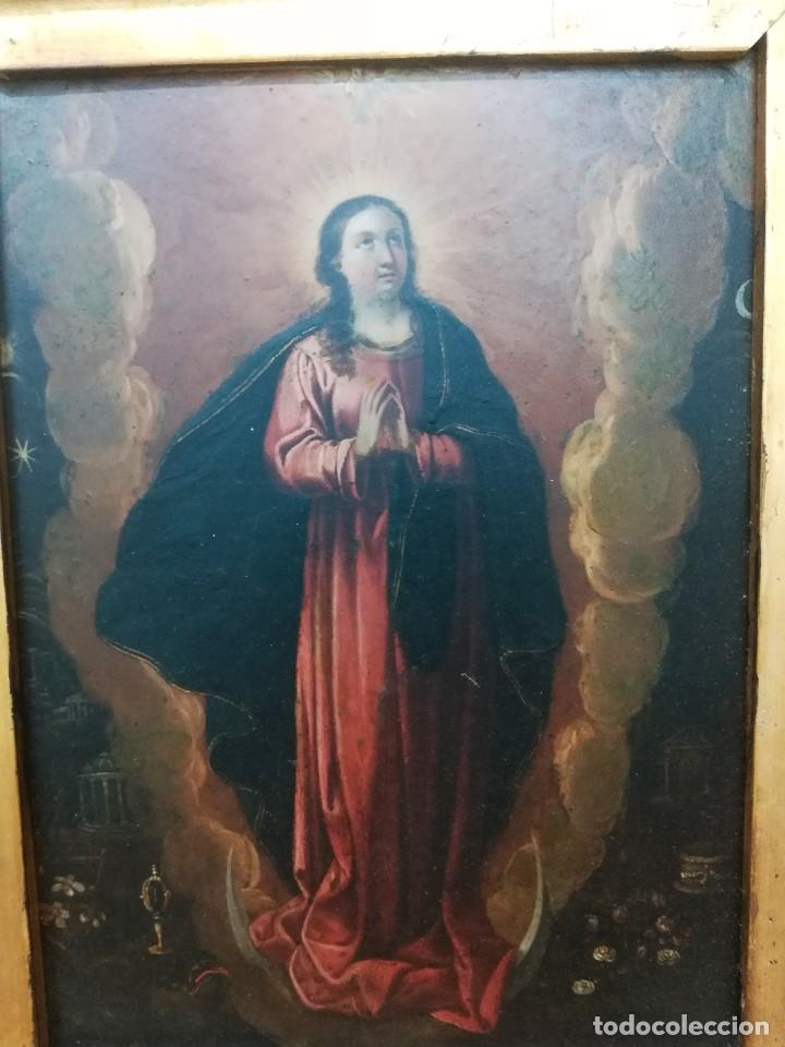 Arte: Virgen inmaculada de cobre - Foto 3 - 203991527