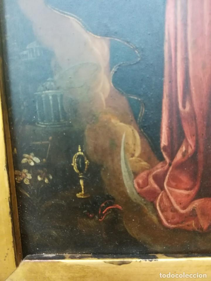 Arte: Virgen inmaculada de cobre - Foto 7 - 203991527