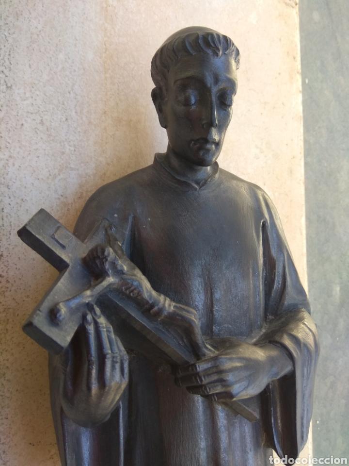 Arte: Bonita Escultura de Mármol de San Luis Gonzaga - - Foto 4 - 113484314