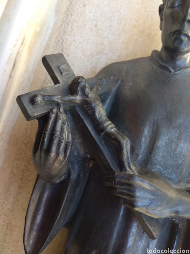 Arte: Bonita Escultura de Mármol de San Luis Gonzaga - - Foto 5 - 113484314