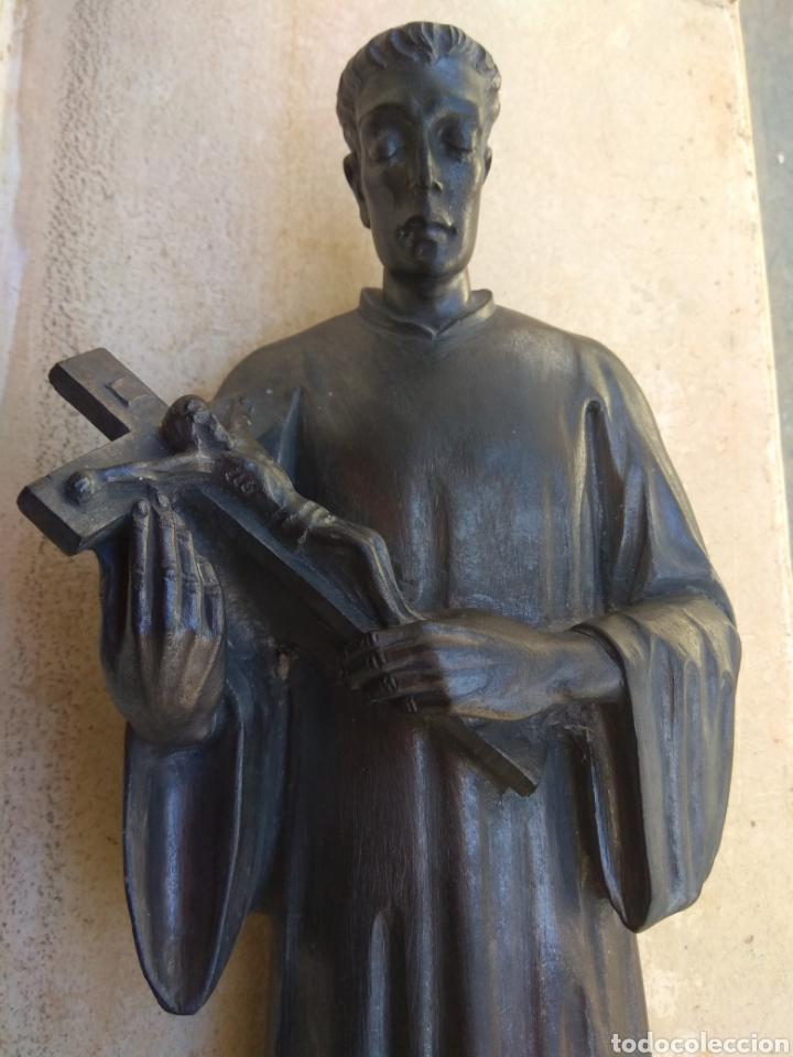 Arte: Bonita Escultura de Mármol de San Luis Gonzaga - - Foto 7 - 113484314