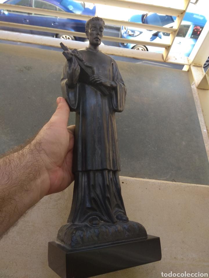 Arte: Bonita Escultura de Mármol de San Luis Gonzaga - - Foto 10 - 113484314