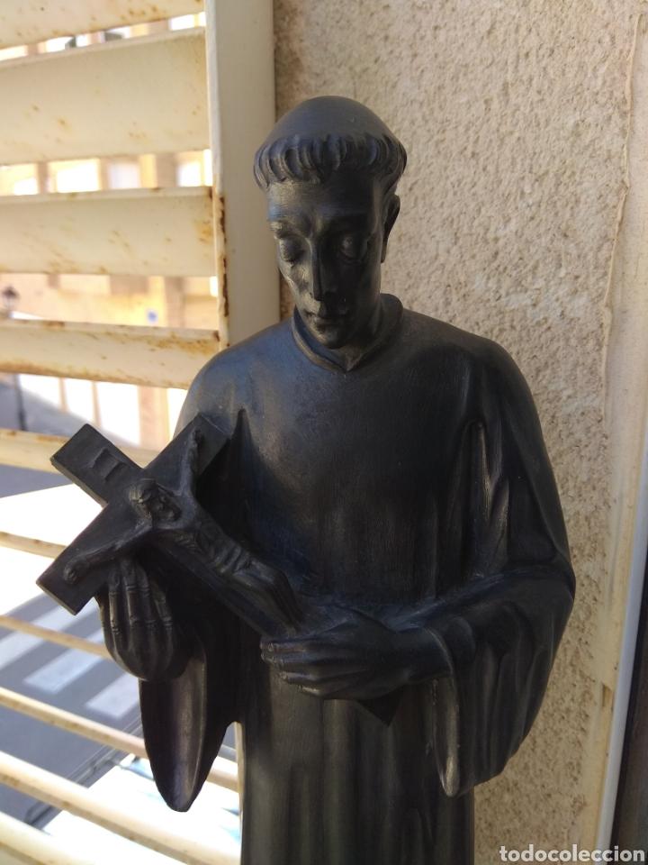 Arte: Bonita Escultura de Mármol de San Luis Gonzaga - - Foto 12 - 113484314