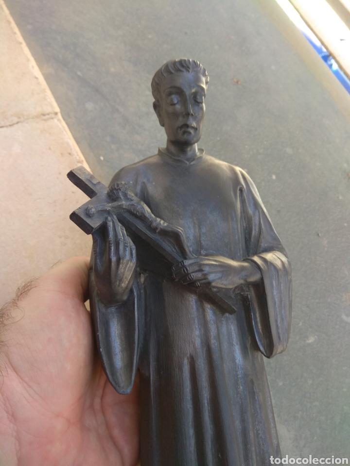 Arte: Bonita Escultura de Mármol de San Luis Gonzaga - - Foto 21 - 113484314