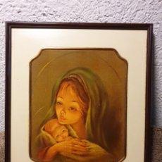 Arte: CUADRO ANTIGUO VIRGEN. Lote 204479892