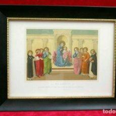Arte: LA MADONNA DE FRA ANGELICO KELLERHOVEN Y PAUL MANTZ 1870 CUADRO. Lote 204646272