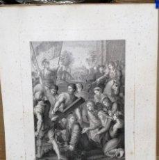 Arte: EL PASMO DE SICILIA.RAFAEL DE URBINO .GRAN GRABADO DE FERNANDO SELMA AÑO 1808.MEDIDAS 56X81 CM.. Lote 204989827