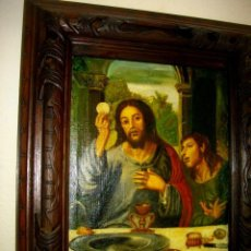 Arte: SEGUIDOR DE JUAN VICENTE MASIP - 1562 -FRACMENTO OBRA (( OLEO SOBRE LIENZO ) 60X 49 CTMS. Lote 204998998