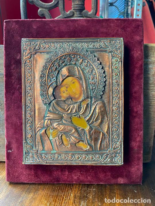 PRECIOSO ICONO RELIGIOSO (Arte - Arte Religioso - Iconos)