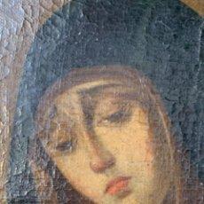 Arte: VIRGEN , OLEO/ LIENZO SIGLO XVIII. Lote 205594686