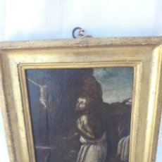 Arte: OLEO SOBRE LIENZO. BARROCO. SAN JERÓNIMO. 1700 - 1750.. Lote 205610591