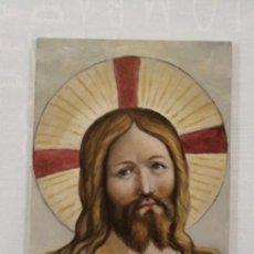 Arte: BUSTO JESUS DE NAZARET, SOBRE CRISTAL. LOBÉKÉ. Lote 205695072