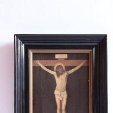 Arte: ARTOLEO VELAZQUEZ DE SILVA MUSEO DEL PRADO MADRID NUESTRO SEÑOR CRUCIFICADO ANTIGUA REPRODUCCION. Lote 205700596