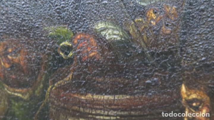 Arte: LA FLAGELACION DE CRISTO. OLEO S/ CHAPA. SIGLO XVIII - Foto 11 - 205725922