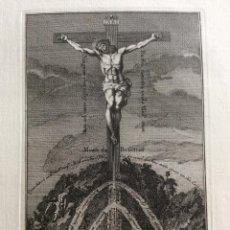 Arte: MONTE DE LA PERFECCIÓN. GRABADO DEL SIGLO XVIII. SALIDA A 0.01€. Lote 205810306