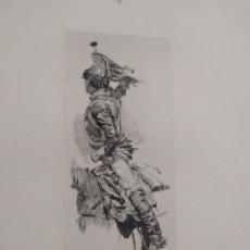 Arte: 1893. LOTE 4 GRABADOS OFICIALES EJÉRCITO. MEISSONIER.. Lote 205811961