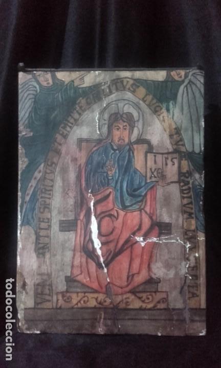 PANTOCRATOR / ESTILO ROMÁNICO (Arte - Arte Religioso - Retablos)