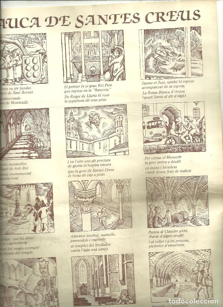 4000.- L'AUCA DE SANTES CREUS - RODOLINS RAMÓN JOVÉ - VINYETES L. PABLO SANZ LAFITA (Arte - Arte Religioso - Grabados)