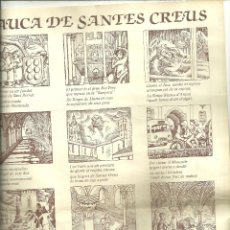 Arte: 4000.- L'AUCA DE SANTES CREUS - RODOLINS RAMÓN JOVÉ - VINYETES L. PABLO SANZ LAFITA. Lote 206253021