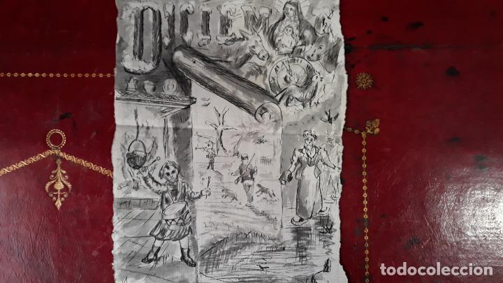 AGUADA SIGLO XIX (Arte - Arte Religioso - Pintura Religiosa - Acuarela)