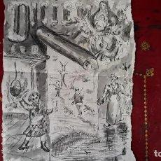 Arte: AGUADA SIGLO XIX. Lote 206299568