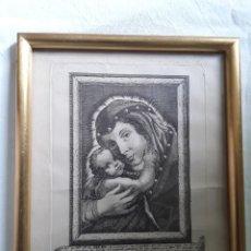 Arte: GRABADO SOBRE PAPEL DE NUESTRA SEÑORA DE BELEN. Lote 206305517