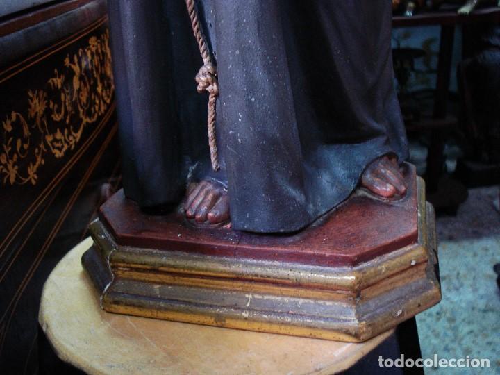 Arte: Excelente San Antonio de Padua con niño talla de madera policromada - Foto 2 - 206507613